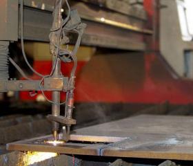 特殊产品焊接修复生产车间